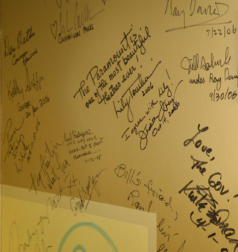 autograph wall