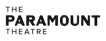 Paramount Theatre logo - black