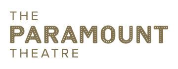 Paramount Theatre logo - gold